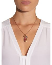 Irene Neuwirth | Pink Diamond, Sapphire, Tourmaline & Gold Necklace | Lyst