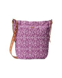 Roxy | Purple City To City Shoulder Bag | Lyst