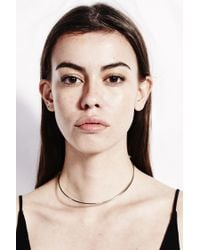 Sorelle | Metallic Silver Lucia Necklace | Lyst