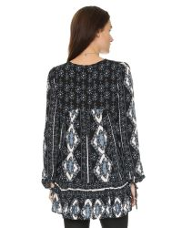 Free People   Black Down By The Bay Dress   Lyst