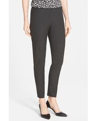 Halogen - Gray 'Taylor' Ankle Skinny Pants - Lyst