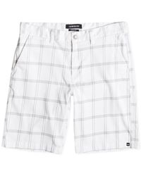 Quiksilver - White Union Surplus Chino Shorts for Men - Lyst