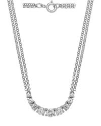 Lord & Taylor | Diamond And 14k White Gold Necklace, 1 Tcw | Lyst