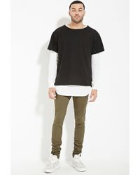 Forever 21 | Green Eptm. Drawstring Pants for Men | Lyst