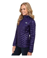 The North Face - Purple Thermoball™ Hoodie - Lyst