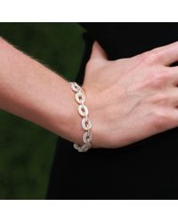 Inbar - White Mother Of Pearl Link Bracelet - Lyst