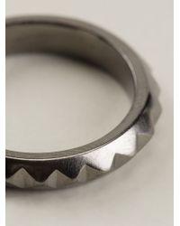 Vj By Vanni Pesciallo - Metallic 'Iratus 1' Ring - Lyst