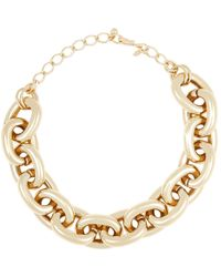 Kenneth Jay Lane | Metallic Women's Heavy Oval-link Chain | Lyst