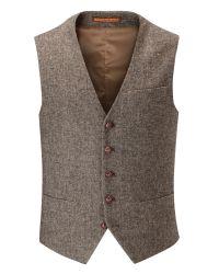 Skopes | Brown Morris Waistcoat for Men | Lyst