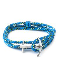 Anchor & Crew | All Blue Admiral Rope Bracelet for Men | Lyst