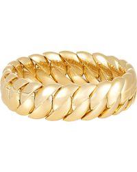 Sidney Garber | Metallic Wave Link Bracelet | Lyst