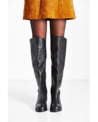 Urban Outfitters   Black Sally Over-the-knee Boot   Lyst