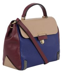 Marc By Marc Jacobs - Blue Sheltered Island Top Handle Bag - Lyst