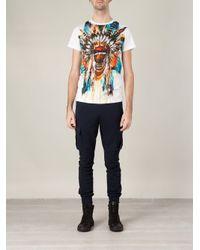 Balmain   Multicolor T-shirt for Men   Lyst