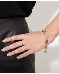 Annina Vogel - Metallic Gold Band Ring - Lyst