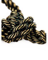 Lanvin - Metallic Pierced Earrings - Lyst
