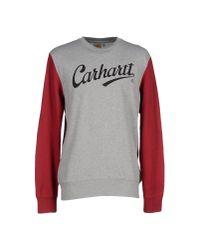 Carhartt - Gray Sweatshirt for Men - Lyst