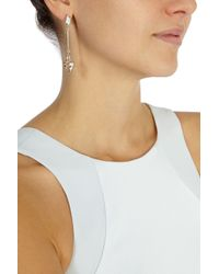 Coast - Metallic Evelyn Droplet Earring - Lyst