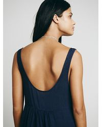 Free People | Purple Womens Parisian Slip | Lyst