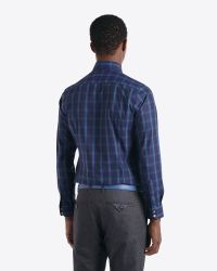 Ted Baker | Blue Checked Shirt for Men | Lyst
