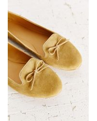 Urban Outfitters - Natural Tillie Smoking Slipper Flat - Lyst