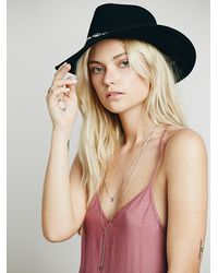 Free People - Purple Knotted Tie Up Slip - Lyst
