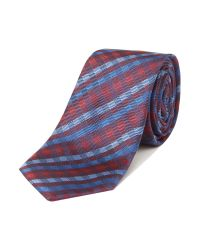 Simon Carter | Blue Patterned Tie for Men | Lyst