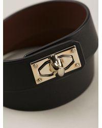 Givenchy | Black Strap Bracelet | Lyst