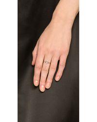 Aurelie Bidermann - Metallic Silver Star Ring - Lyst