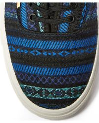 Vans - Blue Authentic Ca Fabric Trainers for Men - Lyst