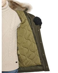 Woolrich - Green Eskimo Cotton Parka for Men - Lyst