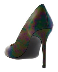 Banana Republic | Multicolor Violet Pump | Lyst