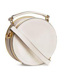 H&M - White Round Shoulder Bag - Lyst