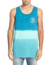 Rip Curl - Blue 'search Vibes' Custom Tank for Men - Lyst