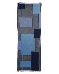 Club Monaco | Blue Kasee Scarf - Grey Heather | Lyst