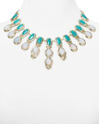 Kendra Scott | Green Whitney Necklace 16 | Lyst