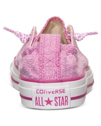 Converse | Pink Women'S Chuck Taylor Shoreline Slub Linen Casual Sneakers From Finish Line | Lyst