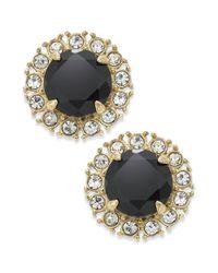 kate spade new york | Metallic Gold-tone Stud Earrings | Lyst