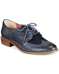 BC Footwear | Blue Bc Sidekick Oxfords | Lyst