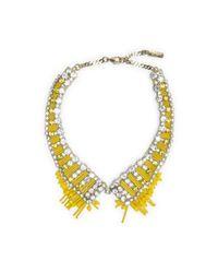 Club Monaco - Yellow Rada Collar - Lyst
