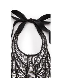 Vera Wang Collection - Black Necklace Jet Black - Lyst
