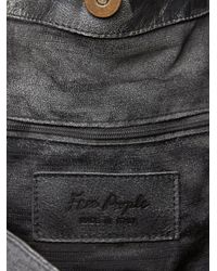 Free People - Gray Molina Distressed Bag - Lyst