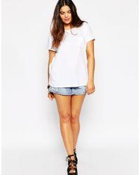 ASOS - Black The Pocket T-shirt - Lyst