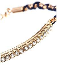 Tokyo Jane - Multicolor Blue Lola String Bracelet - Lyst