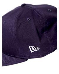 Stussy - Blue New Era World Tour Baseball Hat - Lyst