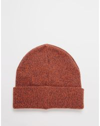Jack & Jones | Red Knit Beanie for Men | Lyst