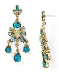 Carolee | Blue Cerulean Skies Chandelier Earrings | Lyst