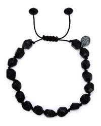 Joseph Brooks - Black Spinel Beaded Bracelet for Men - Lyst