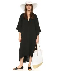 9seed - Black Tangier Casablanca Cover Up Dress - Lyst