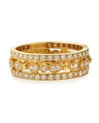 KC Designs - Metallic 14k Yellow Gold Diamond Band - Lyst